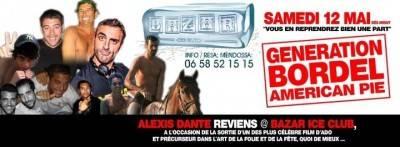 Bazar Club / La Palmeraie / L'Elysee / L'Etage Gold samedi 12 mai  Marseille
