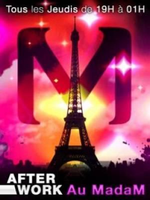 Madam jeudi 28 juin  Paris
