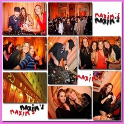 Maxim's jeudi 24 mai  Paris