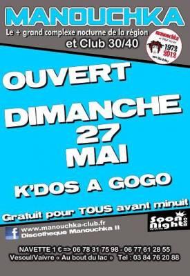 Manouchka dimanche 27 mai  Vaivre-et-Montoille