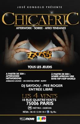 4 vents jeudi 05 juillet  Paris