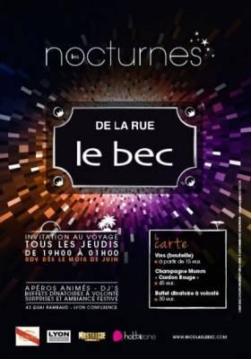 La Rue Le Bec jeudi 12 juillet  Lyon