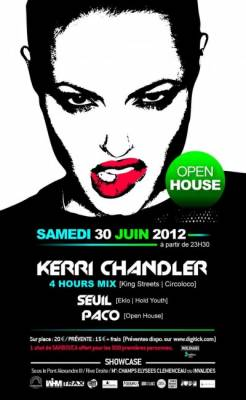 Showcase samedi 30 juin  Paris