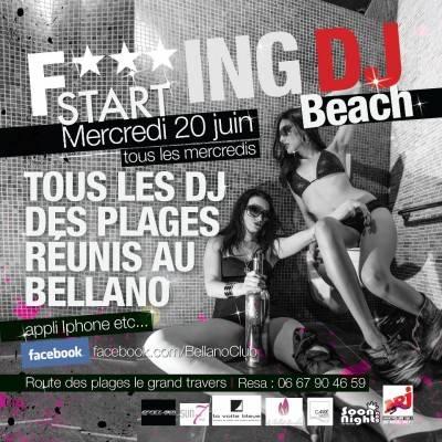 La Dune Club mercredi 15 aout  La Grande Motte