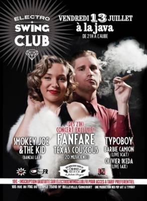 Java vendredi 13 juillet  Paris