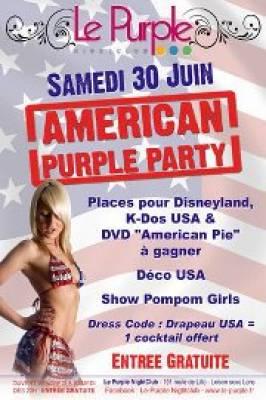 Purple samedi 30 juin  Loison sous lens