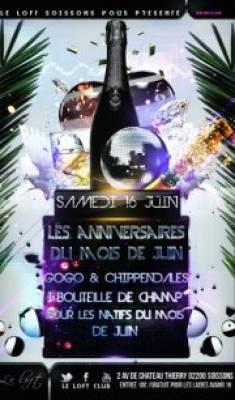 Loft Club samedi 16 juin  Soissons