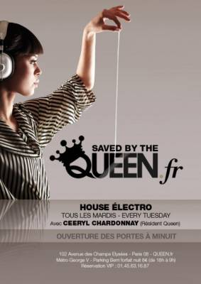 Queen Club mardi 04 septembre  Paris