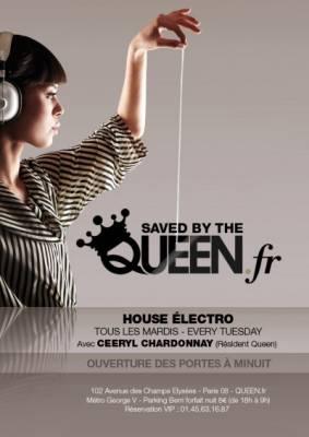 Queen Club mardi 17 juillet  Paris