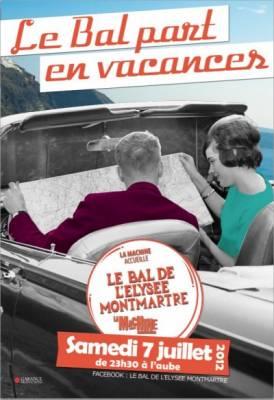 La Machine du Moulin Rouge samedi 07 juillet  Paris
