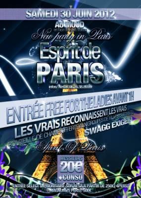 Mood samedi 30 juin  Paris