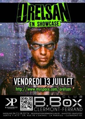 B.Box vendredi 13 juillet  Clermont Ferrand