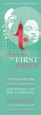 First Avenue jeudi 02 aout  Paris