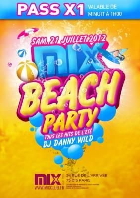 Mix Club samedi 21 juillet  Paris