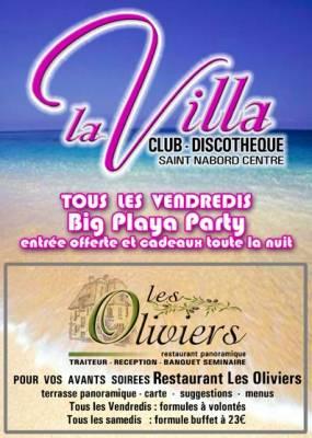 la villa st nabord vendredi 17 aout  St nabord