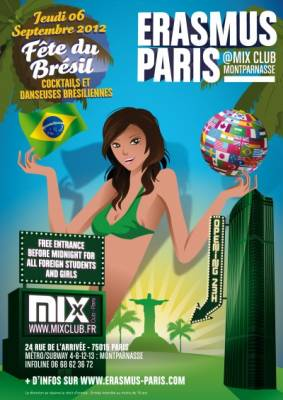 Mix Club jeudi 06 septembre  Paris
