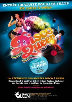Queen Club lundi 01 octobre  Paris