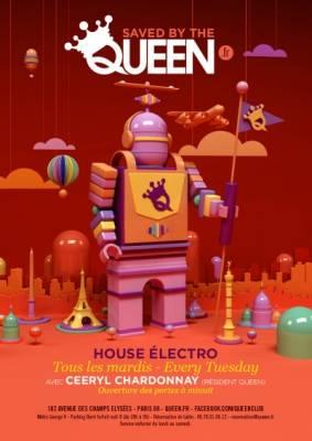 Queen Club mardi 20 Novembre  Paris