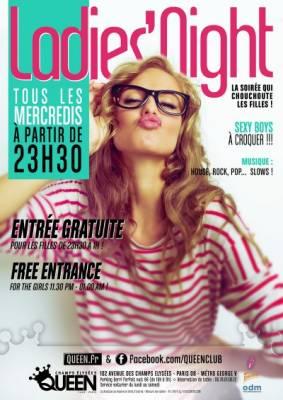 Queen Club mercredi 28 Novembre  Paris