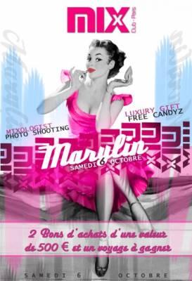 Mix Club samedi 06 octobre  Paris