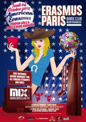 Mix Club jeudi 04 octobre  Paris