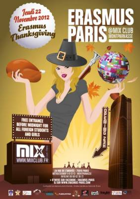 Mix Club jeudi 22 Novembre  Paris
