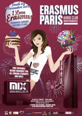 Mix Club jeudi 29 Novembre  Paris