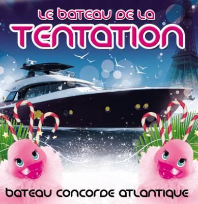 Bateau Concorde Atlantique samedi 17 Novembre  Paris