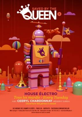 Queen Club mardi 04 decembre  Paris