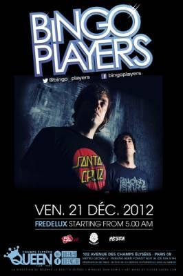Queen Club vendredi 21 decembre  Paris