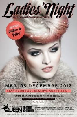 Queen Club mercredi 05 decembre  Paris