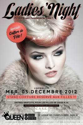 Queen Club mercredi 05 decembre  Paris