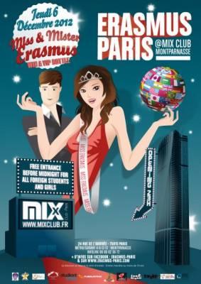 Mix Club jeudi 06 decembre  Paris