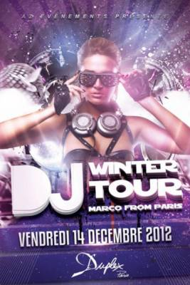 Duplex vendredi 14 decembre  Paris