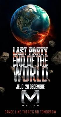 Madam jeudi 20 decembre  Paris
