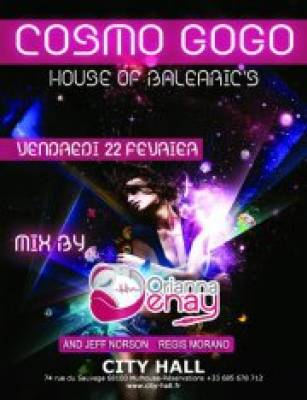 City Hall, Night Club vendredi 22 fevrier  Mulhouse