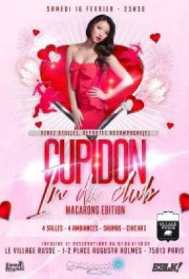 Cupidon in da club dition macarons samedi 16 fevrier 2013 soir e au village russe - Image de cupidon gratuite ...