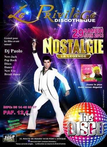 Soir e privil ge club samedi 29 juin 2013 soir e - Disco annee 70 ...