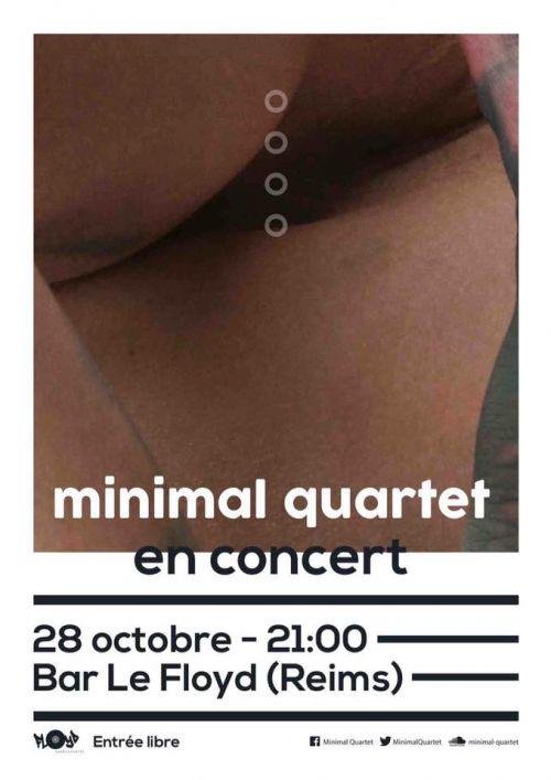 soir e reims vendredi 28 octobre 2016 concert minimal quartet en concert. Black Bedroom Furniture Sets. Home Design Ideas