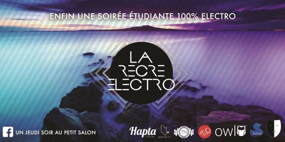 la r cr electro 4 with tapage nocturne le petit salon le petit salon lyon by night. Black Bedroom Furniture Sets. Home Design Ideas