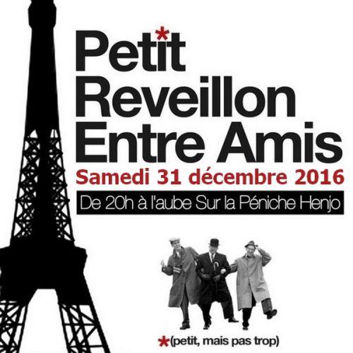 Petit r veillon entre amis samedi 31 decembre 2016 for Menu samedi soir entre amis