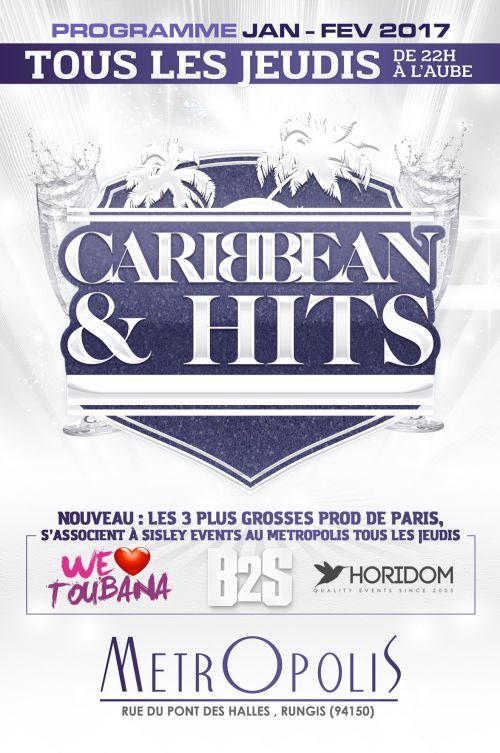 Caribbean hits kizomba party vacances jeudi 16 - Vacances de fevrier paris 2017 ...