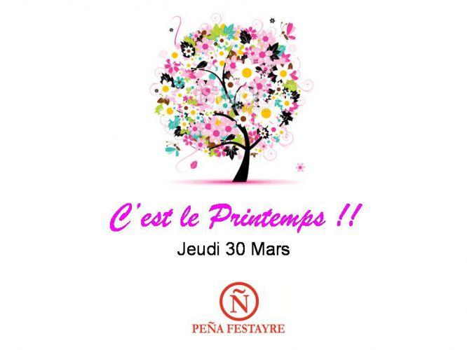 C 39 est le printemps jeudi 30 mars 2017 soir e au pena festayre - C est quand le printemps 2017 ...