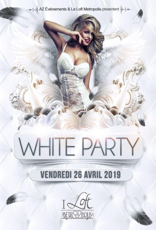 WHITE PARTY @ Metropolis (Complexe)