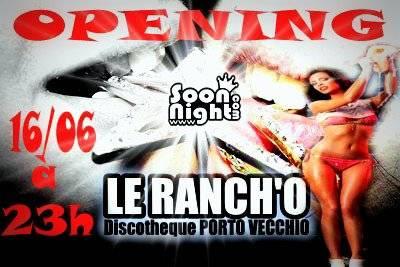 Ranch'o samedi 16 juin  Porto Vecchio