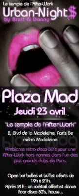 Milliardaire Club jeudi 23 avril  Paris