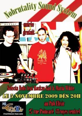 Elixir jeudi 05 Novembre  Troyes