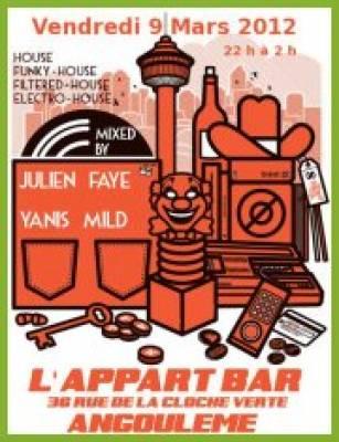 Appart Bar vendredi 09 mars  Angoul�me