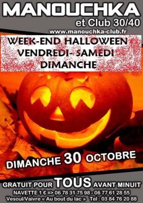 Manouchka samedi 29 octobre  Vaivre-et-Montoille