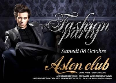 Aston Club samedi 08 octobre  Brix